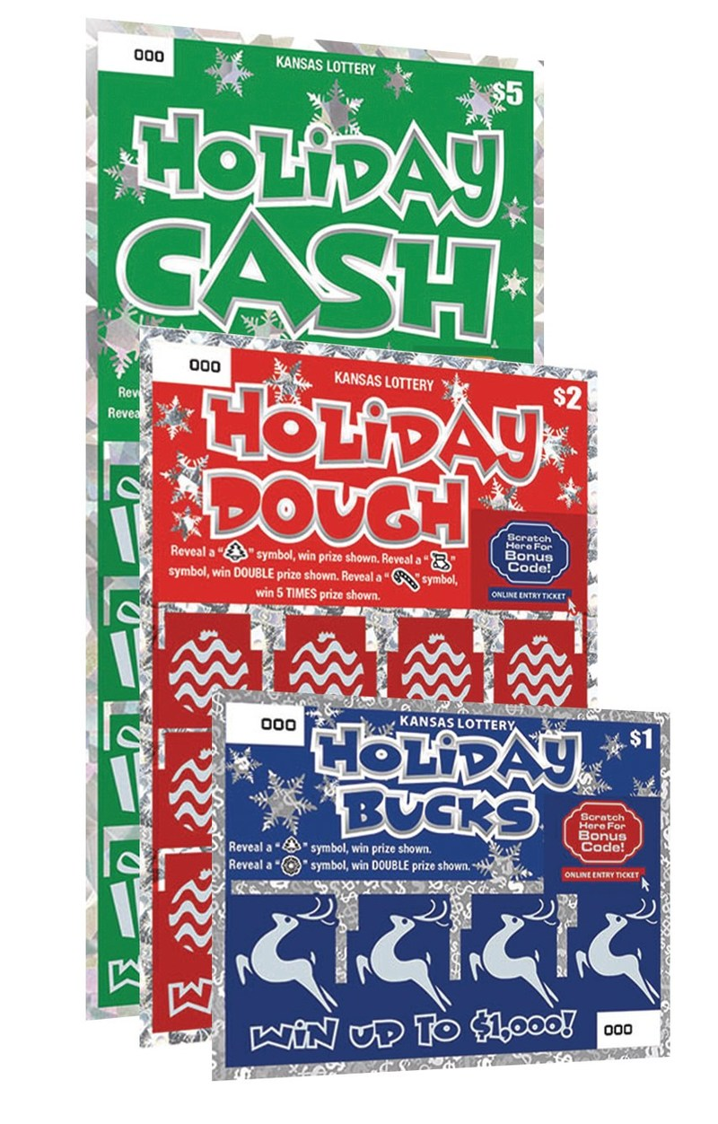 Holiday themed Instant Lottery Games