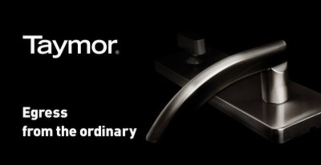 Visit taymor.com to see the latest in door & bath hardware (CNW Group/Taymor Industries Ltd.)