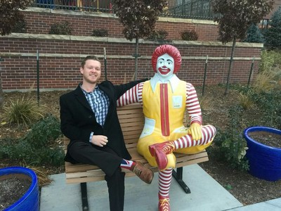 Rhumb Line Business Logistics recently held a fundraiser for the Ronald McDonald House. Sales representative Josh Bagshaw (pictured), and the Rhumb Line team, raised nearly $1,000 for the charity.