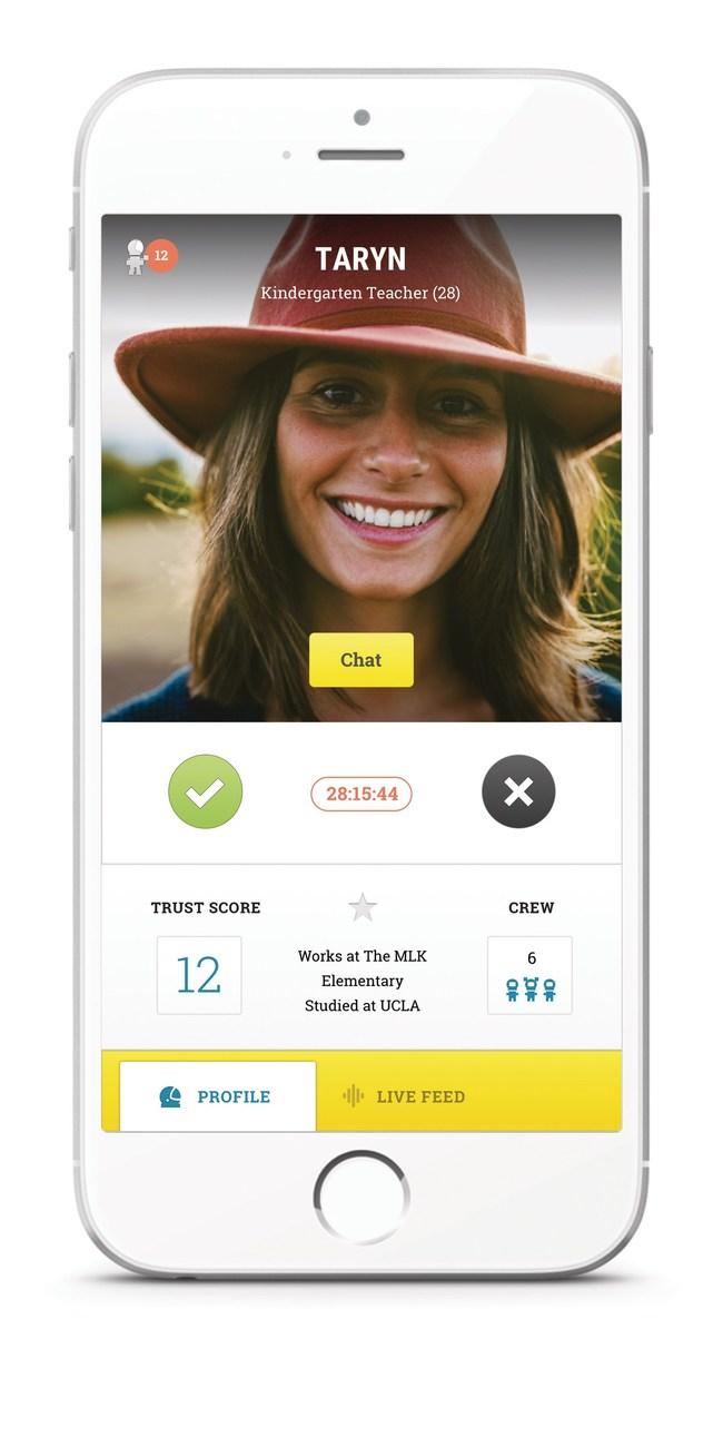 Screencap of Launch's app design.