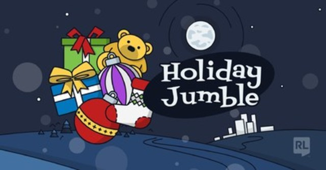 Holiday Jumble Graphic (CNW Group/RL Solutions)