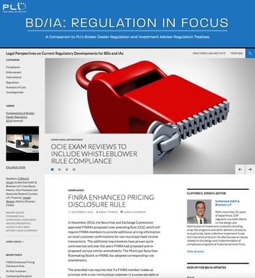 BROKER-DEALER/INVESTMENT ADVISER BLOG
