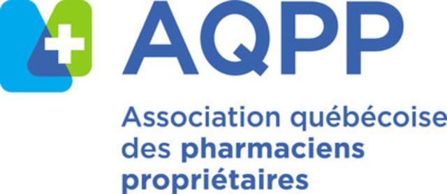 Logo: Association québécoise des pharmaciens propriétaires (Groupe CNW/Association québécoise des pharmaciens propriétaires)