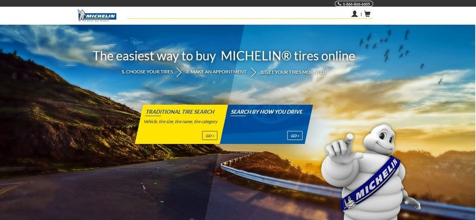 Michelin launches online tire sales in southeastern U.S.