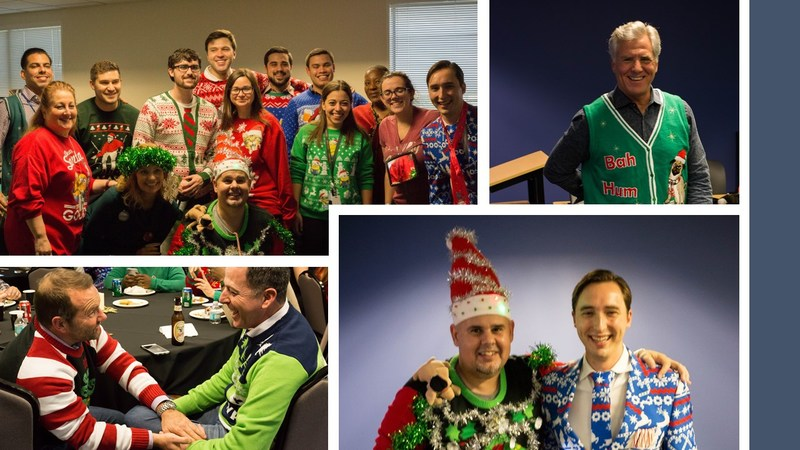 Arise Community Action Team Ugly Sweater Day Benefiting Haiti Relief Efforts