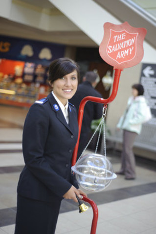 Salvation Army Kettle ~ Salvation army hoping for final week boost christmas