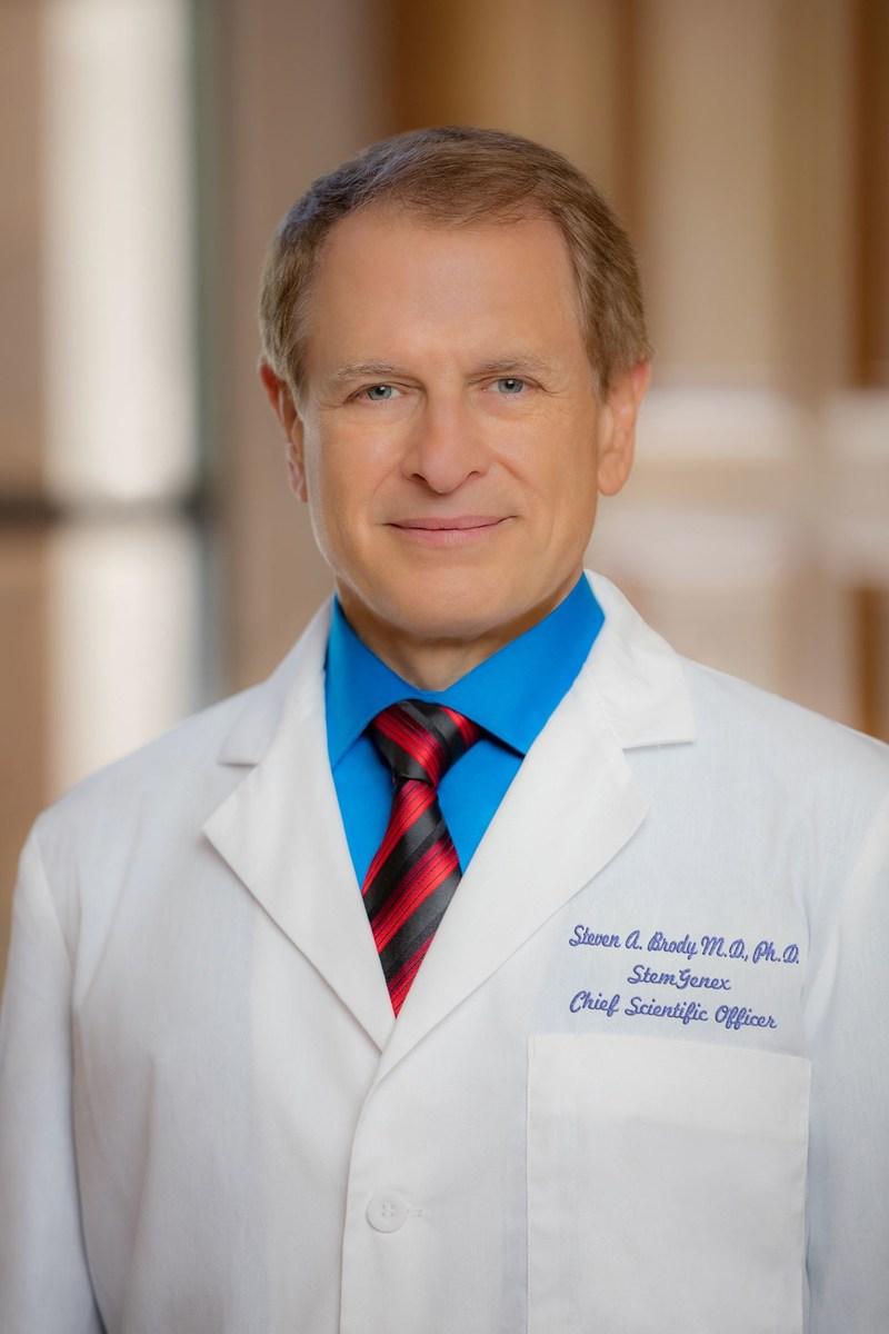 Steven A. Brody, M.D., Ph.D., StemGenex Chief Scientific Officer