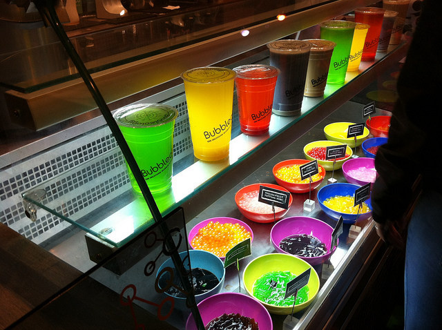 Bubbleology offers many varieties of milk and fruit teas, and create-your-own brews for any mood or taste!