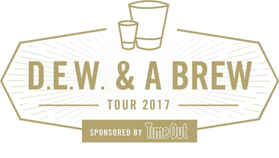 D.E.W. & A Brew Tour 2017 Logo