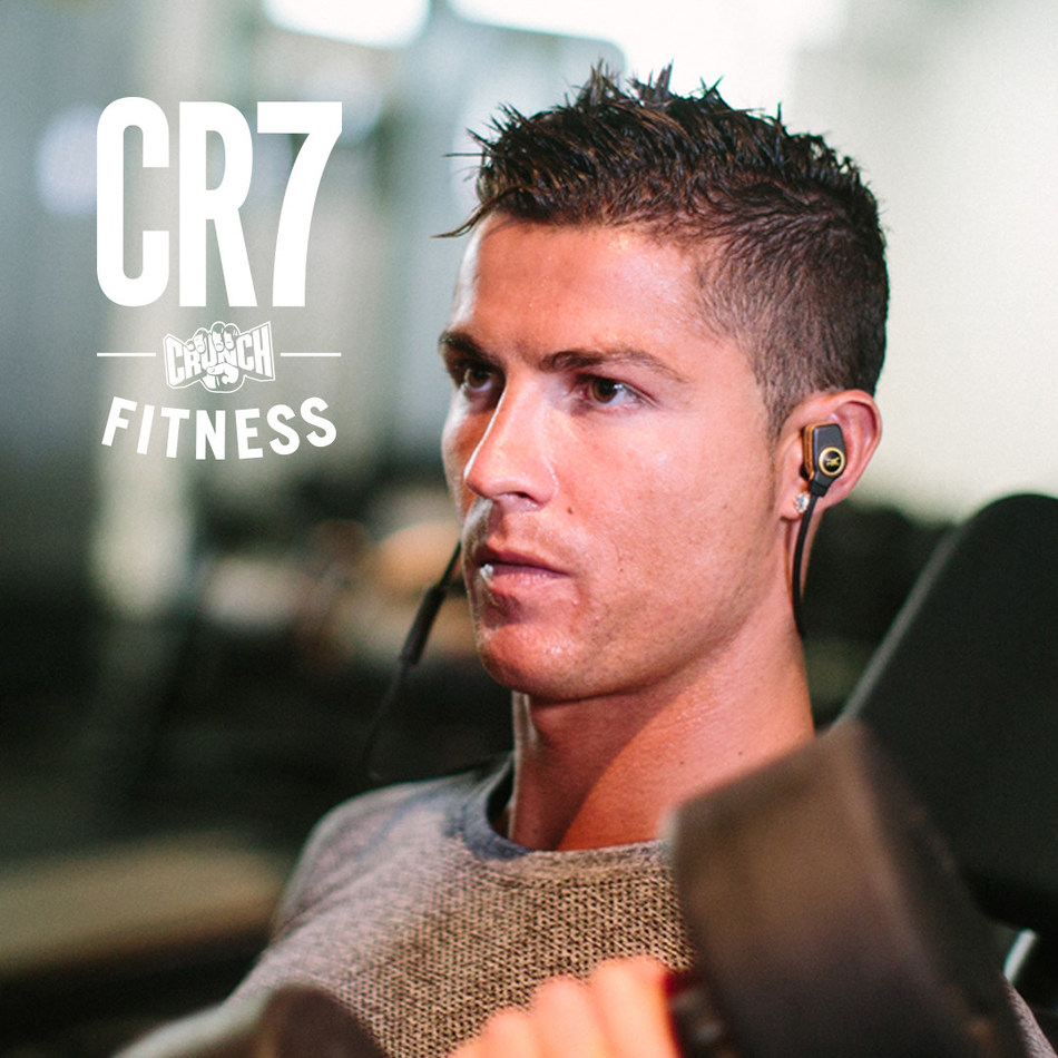 Crunch Fitness Launches Gyms with Cristiano Ronaldo's CR7