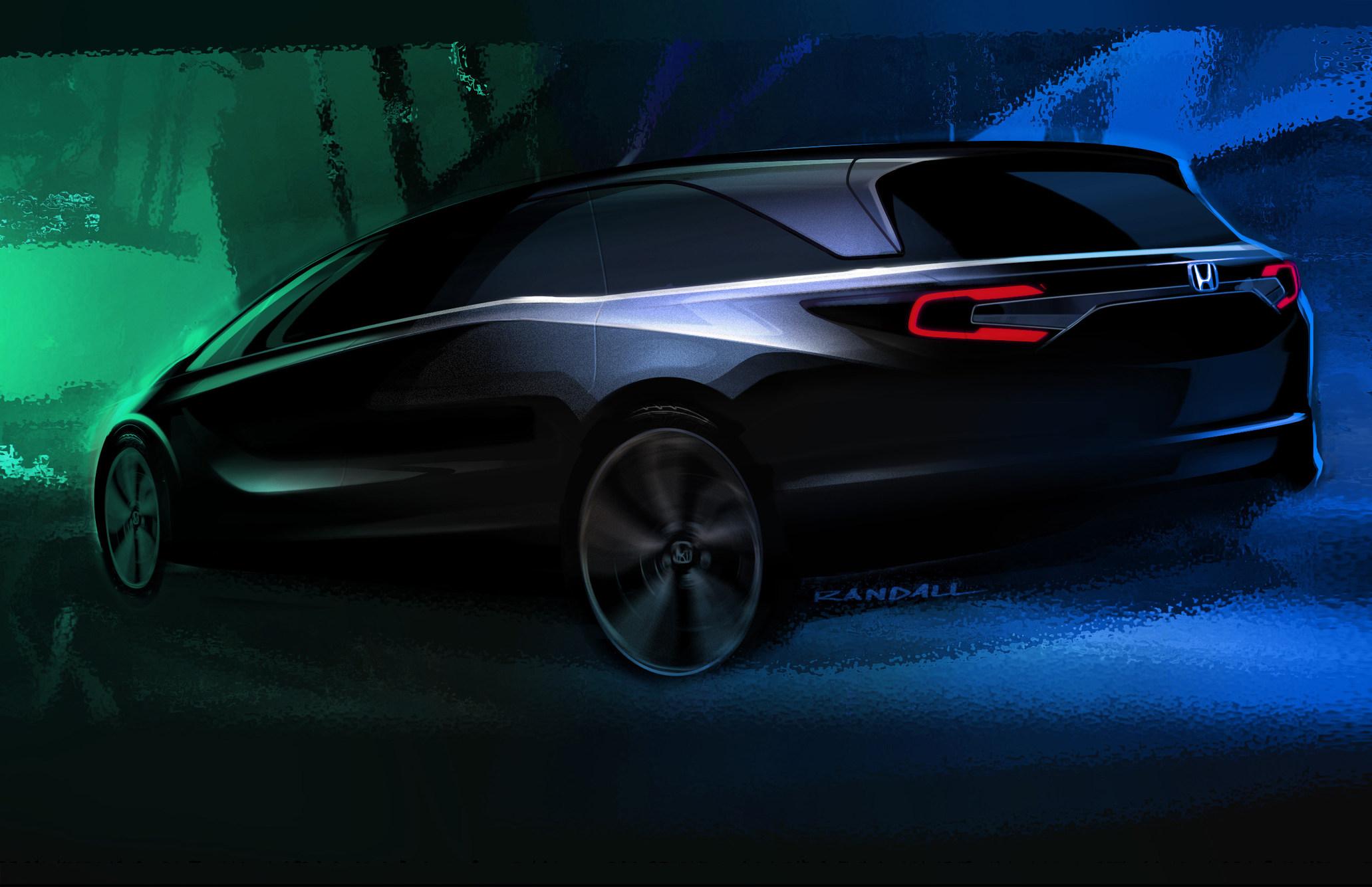 Honda estrenará el totalmente nuevo miniván Odyssey 2018 en la Feria Automovilística Internacional