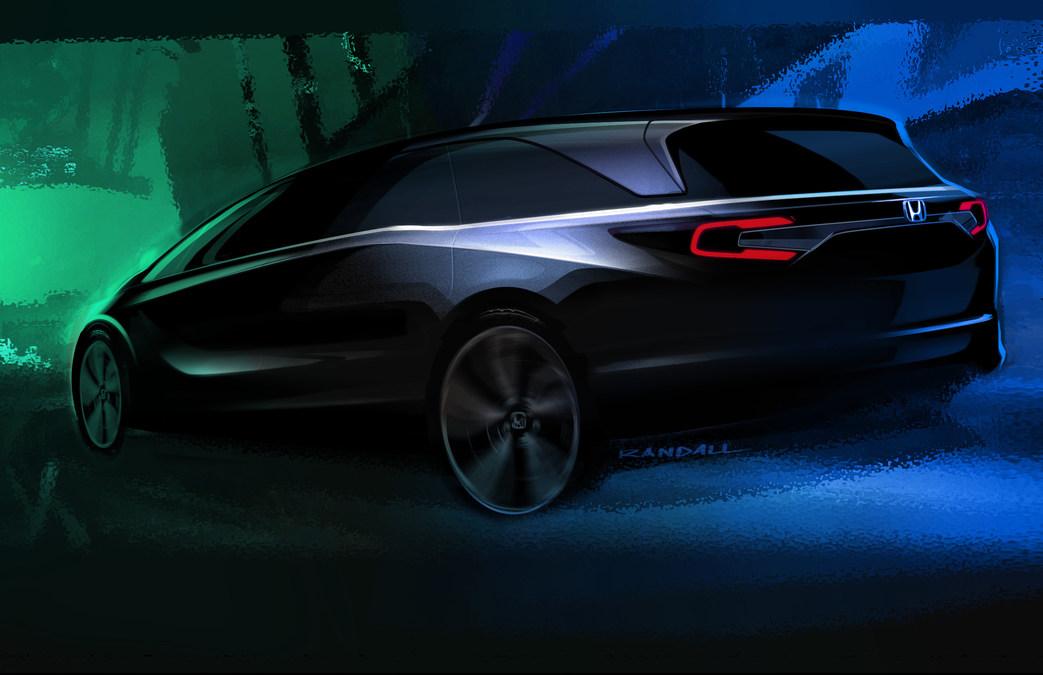 Honda to debut all new 2018 odyssey minivan at 2017 north american international auto show