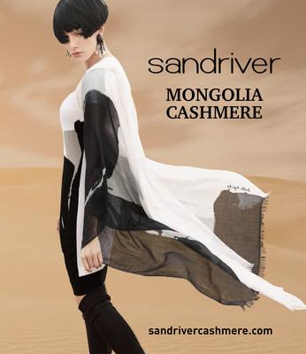 SANDRIVER Super fine cashmere products from Mongolia www.sandrivercashmere.com