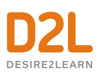 D2L Logo (PRNewsFoto/D2L)
