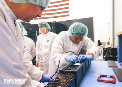 Final preparations of the ALTAIR(TM) Pathfinder satellite at Millennium Space Systems vehicle was shipped to NanoRacks on December 14th.