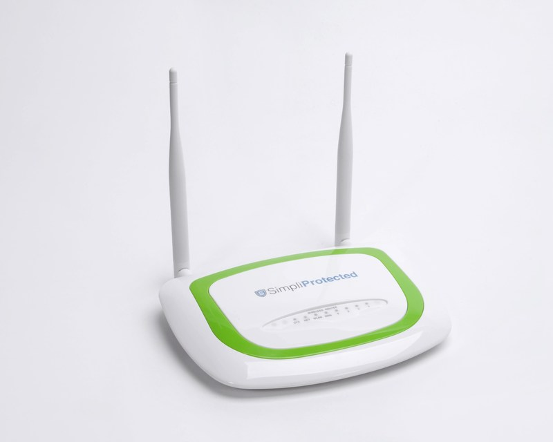 SimpliProtected Router