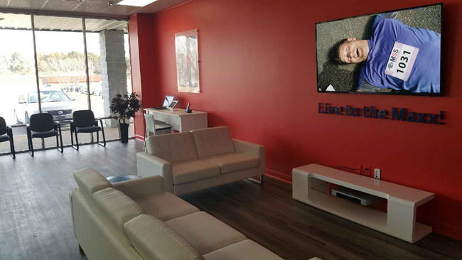 The New Albany Office will have HDTV services for customers to enjoy while waiting to be serviced.