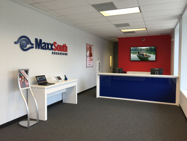 The front lobby of the new Oxford office opening early in 2017.