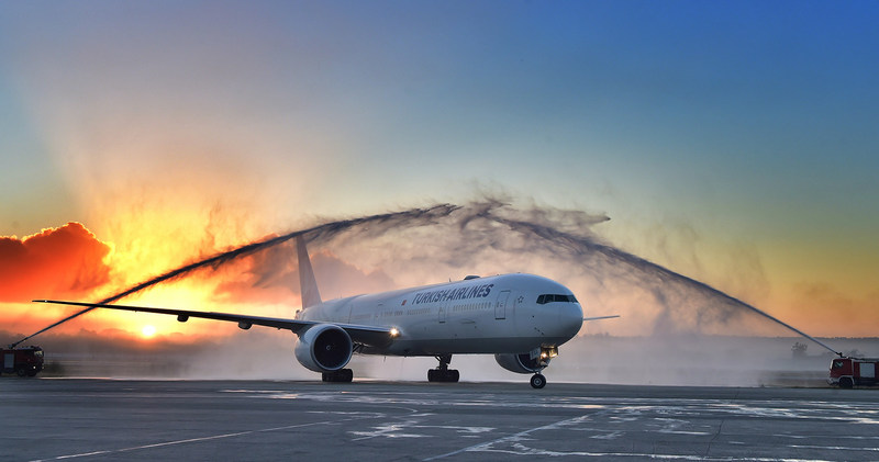 Turkish Airlines inaugurates Havana and Caracas flights (PRNewsFoto/Turkish Airlines)