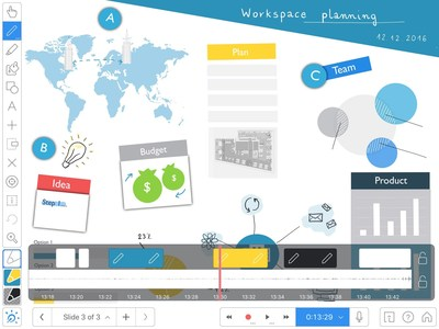 Explain Everything Interactive Whiteboard has been used by leaders, learners, trainers, and teachers to create, collaborate, share and discover.