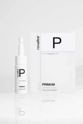 the packshot of the UNIVERSKIN Primum Serum magistrale (PRNewsFoto/Croma-Pharma GmbH)