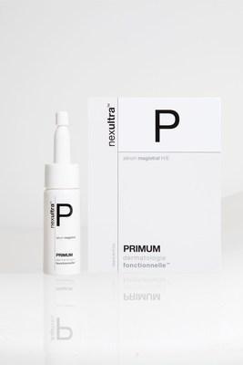 the packshot of the UNIVERSKIN Primum Serum magistrale (PRNewsFoto/Croma-Pharma GmbH)