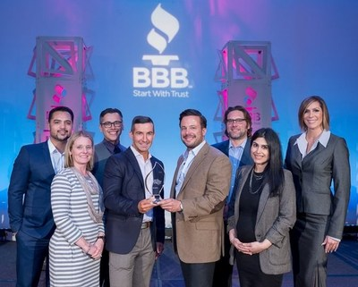 Optima Tax Relief honored this month by the Better Business Bureau as a Torch Award for Marketplace Ethics finalist.