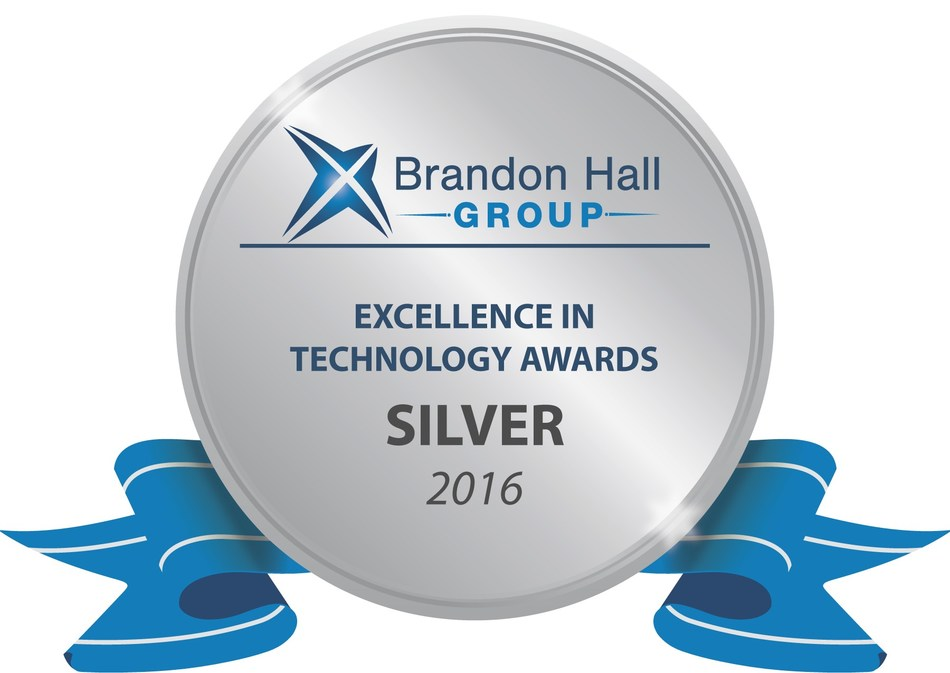 Voxy won a 2016 Brandon Hall Group silver award for excellence in the Best Advance in Unique Learning Technology category.