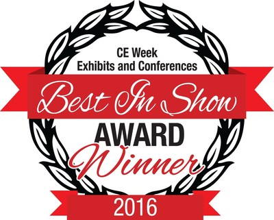 "Global Ionics LLC ""Beverage Power"" Drinking Device wins ""Best in Show"" Award at CE Week NY 2016"