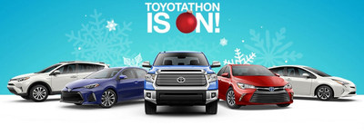 fort smith toyota dealership celebrates holiday savings with annual toyotathon sales event. Black Bedroom Furniture Sets. Home Design Ideas