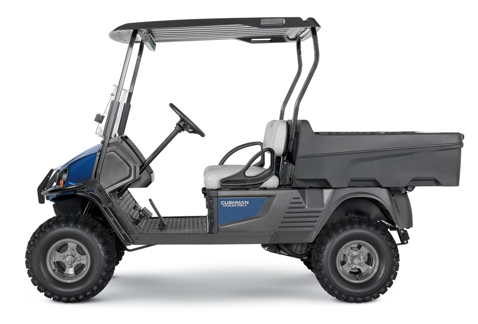 Cushman Hauler PRO-X offers more payload, a larger bed, and 17 affordable accessories that are ready to enhance the functionality of any vehicle.