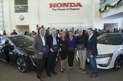 Honda Delivers 2017 Clarity Fuel Cells