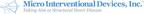 Micro Interventional Devices, Inc.™ gibt die Einreichung der...