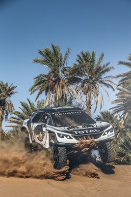 The Peugeot Rally team entry is one of more than 100 that will be racing on BFGoodrich Tires at the 2017 Dakar Rally