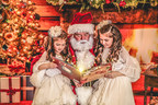 Children get to enjoy a magical story from Santa