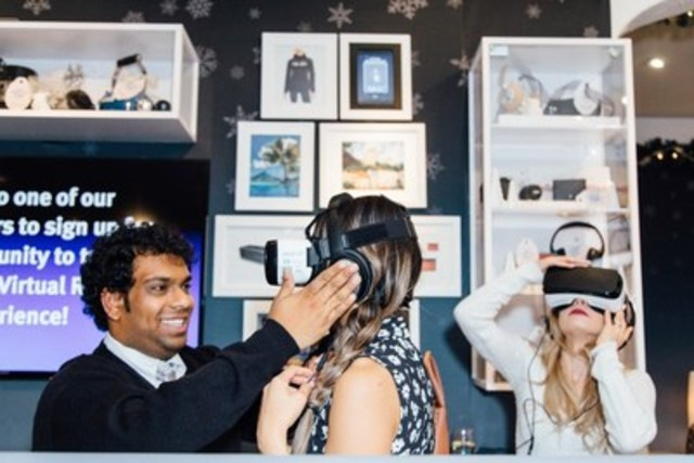 La nouvelle Expérience de réalité virtuelle de RBC offre aux clients une immersion dans le monde de RBC Récompenses (Groupe CNW/RBC Banque Royale)