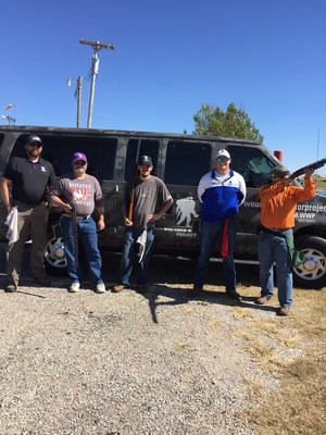 At a recent Wounded Warrior Project(R) (WWP) outreach event, wounded veterans dusted off their trap shooting skills, firing into clay pigeons and targets during a competition.