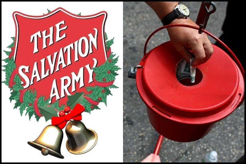 Salvation Army Kettle ~ C spire foundation steps up to help the salvation army