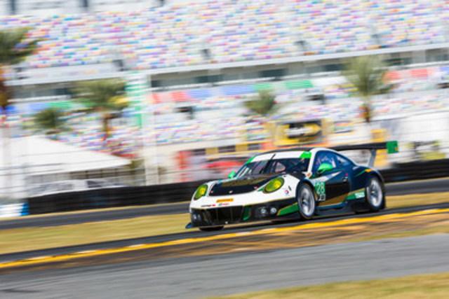 Alegra Motorsports all-new Porsche 911 GT3 R (CNW Group/Alegra Motorsports)