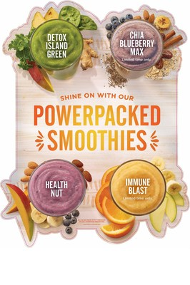 Shine on with Tropical Smoothie Cafe's powerpacked and supergreen line-up for 2017!