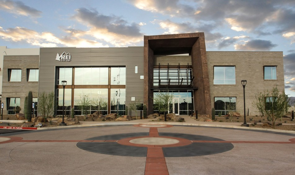 REI's new distribution center is the first U.S. LEED Platinum and Net Zero Energy Distribution Center