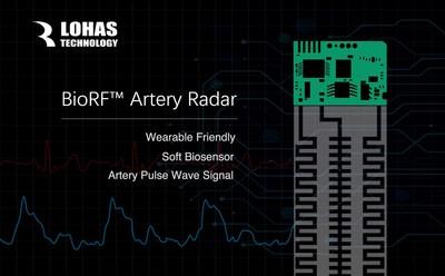 Lohas Tech will bring BioRF Artery Radar to CES 2017 (PRNewsFoto/Lohas Tech)