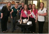 The AmericInn in Litchfield, Minn., celebrates AmericInn Cares with an Ice Cream for Breakfast event to support Scoops of Hope.