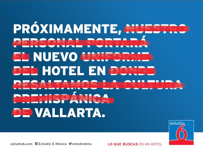 Award-Winning G6 Hospitality Marketing Campaign Messaging in Mexico