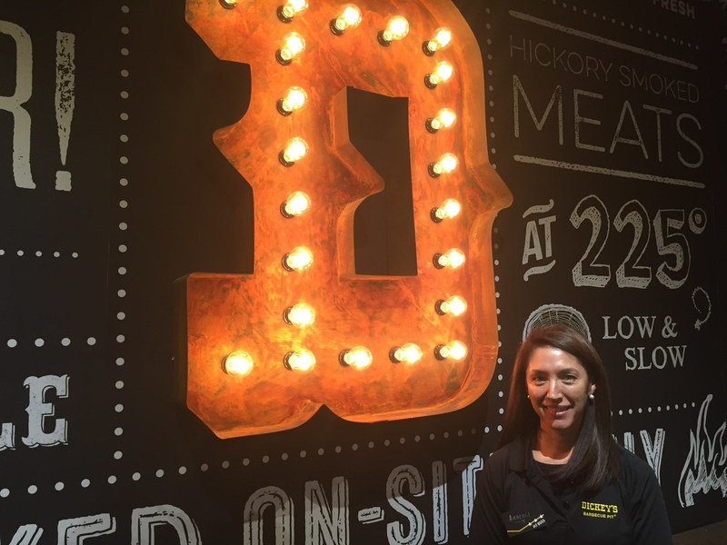 Araceli Acosta opens her first Dickey's Barbecue Pit location in El Paso.
