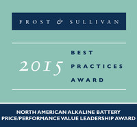 Frost & Sullivan recognizes Batteroo, Inc. with the 2015 North America Price/Performance Value Leadership Award.