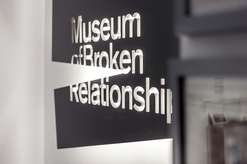 The Museum of Broken Relationships in Zagreb, Croatia