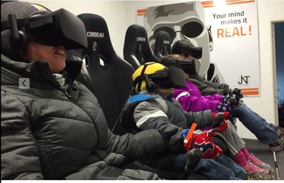 Here are 4 of the 700 people that have experienced the VR InMotion experience.