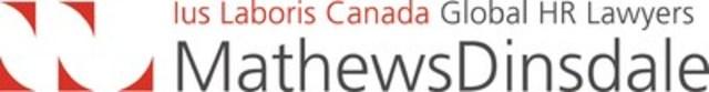 Mathews Dinsdale (CNW Group/Mathews, Dinsdale & Clark LLP)