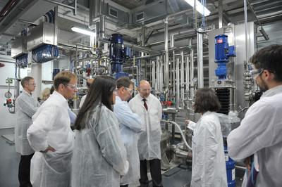 Merck abre en espa a un centro de producci n exclusivamente de meglumina - Merck mollet del valles ...